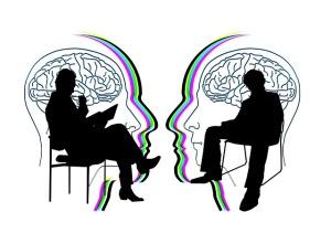 Samtals- och chefsstöd kan främja den psykiska hälsan. Foto: Pixabay