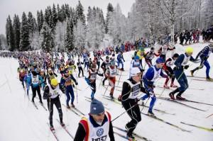 De som åker Vasaloppet tränar mer och har en mer hälsosam livsstil. Foto: Vasaloppet
