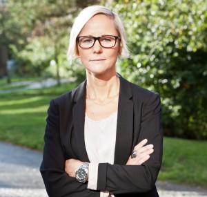 Karin Bergelv, tillförordnad generalsekreterare för Bris i väntan på att Magnus Jägerskog tillträder i mars 2016 efter Kattis Ahlström. Foto: Bris